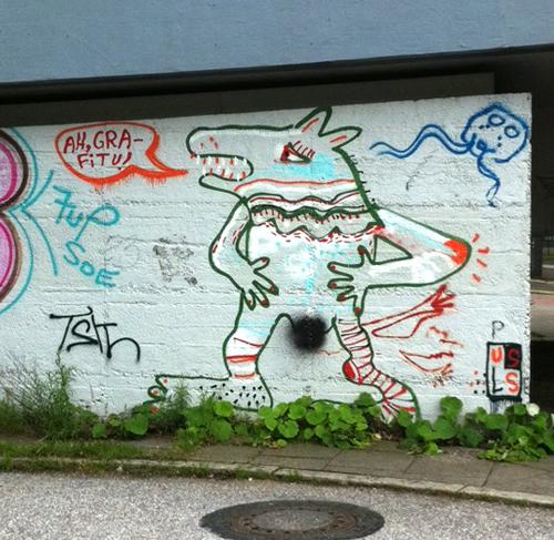 Ah, Grafitu!