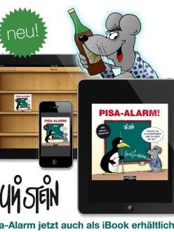 Uli Stein Pisa-Alarm! jetzt als iBook!