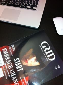 das neue GRID magazin