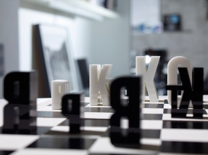 typographic-chess-set