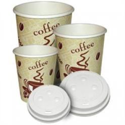 böser Einweg-Kaffeebecher