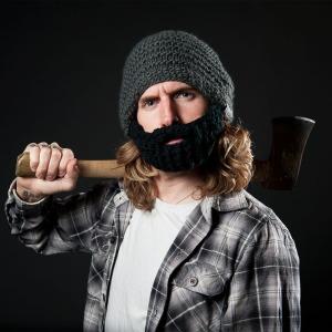 dark grey beard hats (c) Beardowear.ca