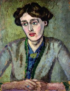 Virginia Woolf by Roger Fry (c) wikipedia.com