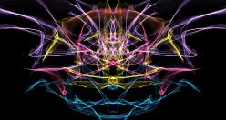 Klangvolle, farbenfrohe Kunst per Mausklick zum Entspannen: Silk (c) weavesilk.com