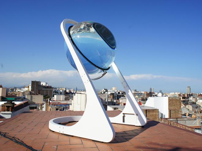 Der Glaskugel-Solarenergie-Generator von RawLemon. Ein Stückchen Zukunft im Hier und Jetzt.
