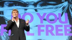 "The Hoff auf der re:publica ""looking for freedom"""