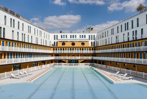 ... the Piscine Molitor in Paris now: historical swimming for the rich and famous