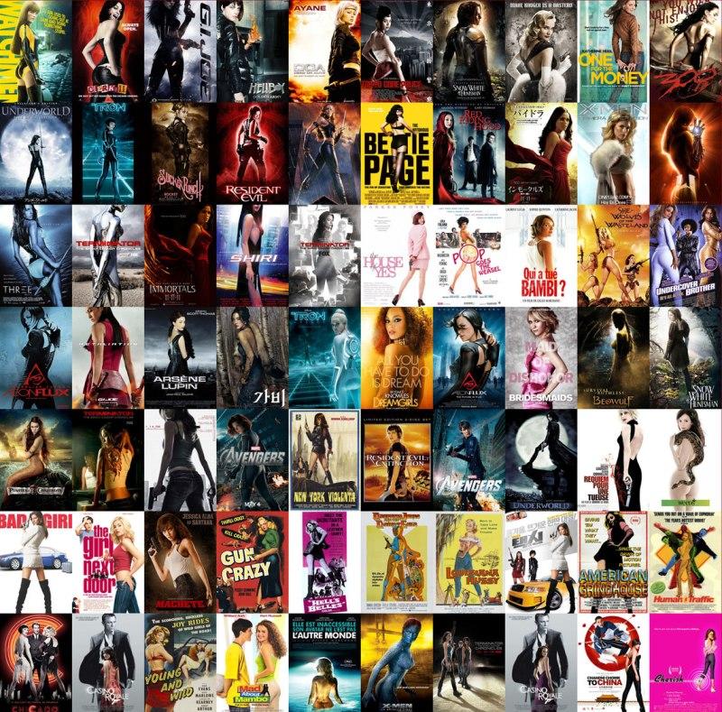 Generische Filmposter-Motive