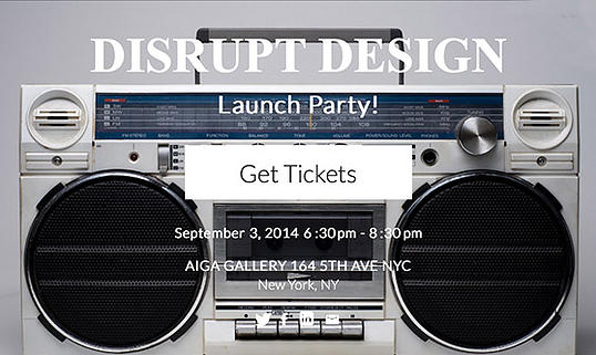 Get un-done at the launch party of the un-school and disrupt design as we know it!