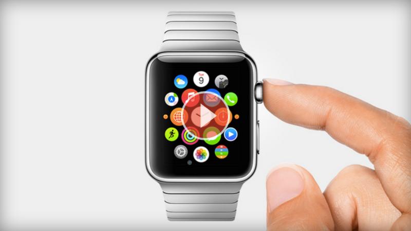 Eine smarte Uhr für smarte Leute: die Apple Watch.