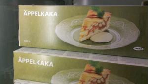 Äppelkaka IKEA-Apfelkuchen (c) facebook.com/judithholofernes