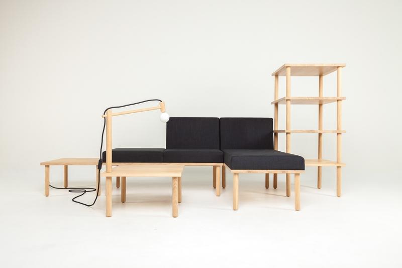 Für jede Gelegenheit die passende Kombination, ganz ohne den sonst obligatorischen Trip zu IKEA (c) behance.com