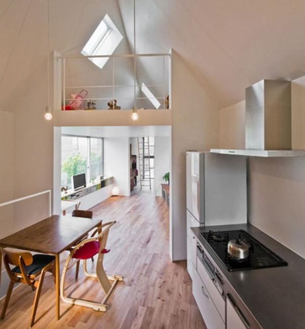 Amazingly utilized space: The Riverside House by Mizuishi Architect Atelier (c) littlethings.com