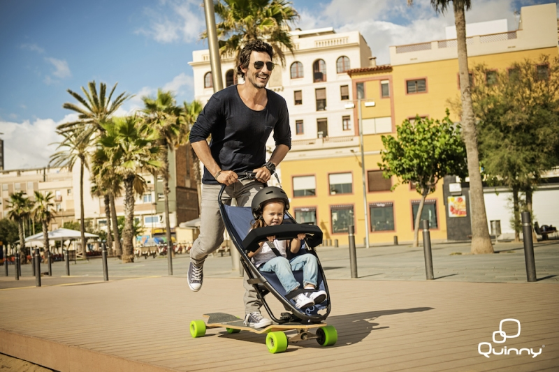 The longboardstroller by Quinny (c) quinny.com