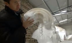 flexible paper sculptures (c) Li Hongbo