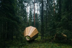 forest megaphones by estonian academy of arts (c) Tönu Tunnel, artun.ee