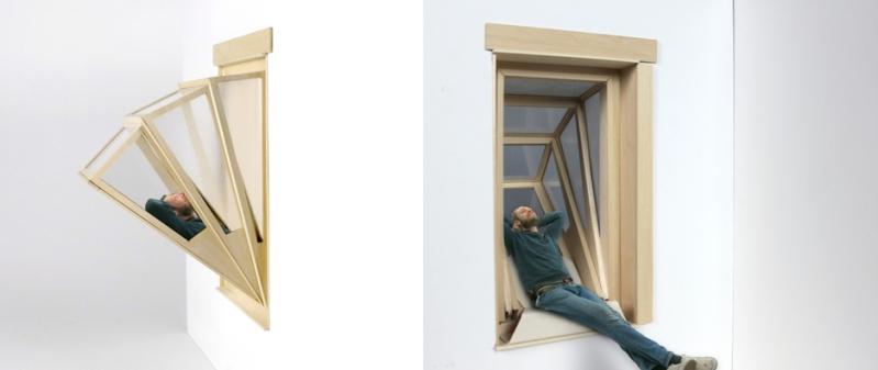Das Fenster für platzlose Romantiker, momentan noch ohne Begleitung (c) aldanaferrergarcia.com