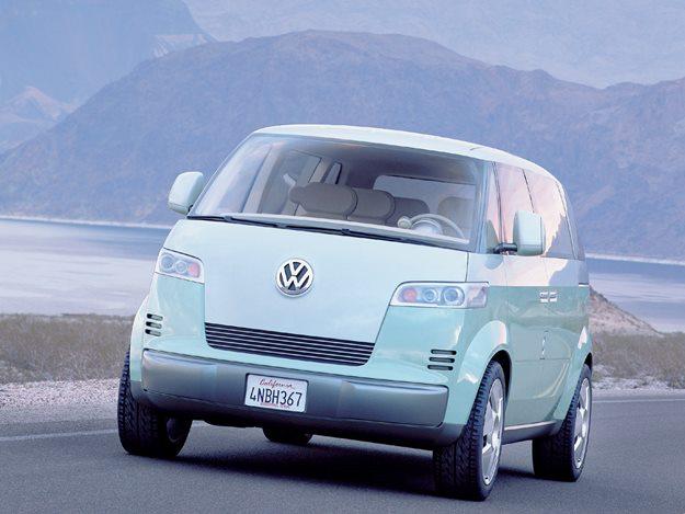 VW Microbus Konzeptstudie von 2001 (c) volkswagen.de