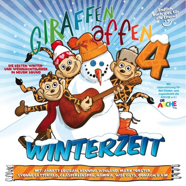 Giraffenaffen Winterzeit Lieder (c) giraffenaffen.de