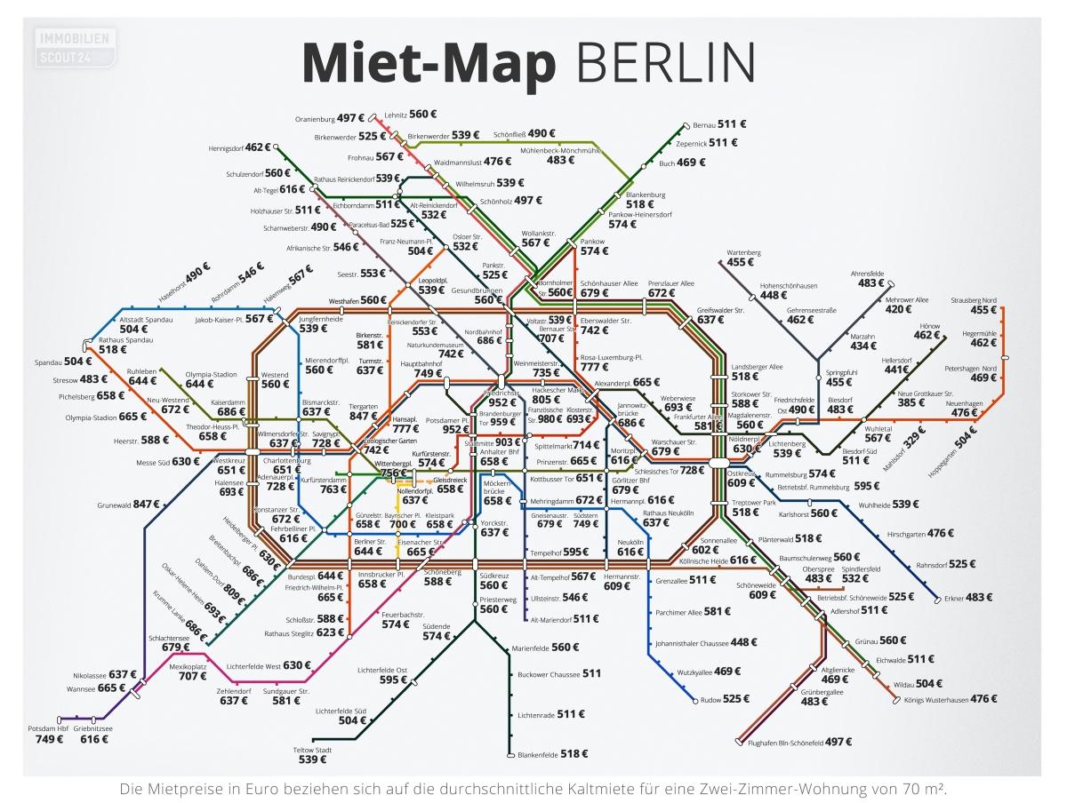 Mietmap Berlin